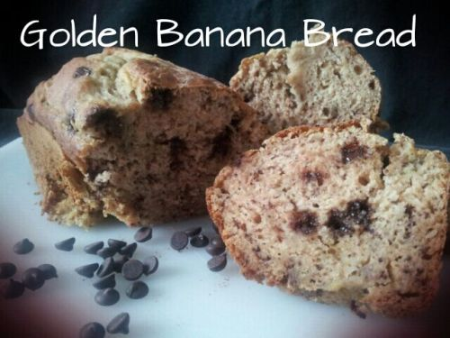 golden banana bread