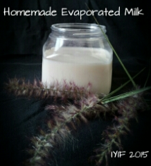 homemade evaporated milk