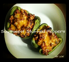 southwest stuffed peppers 2