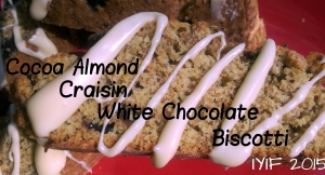 biscotti cocoa almond craisin white chocolate
