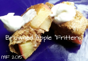 browned apple fritters 1