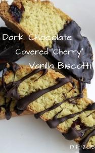 chocolate covered cherry vanilla biscotti 5