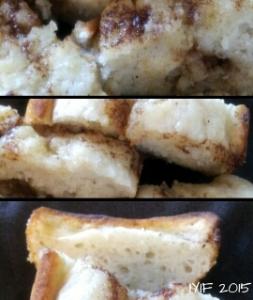 cinnamon roll pound cake artistic