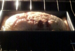 cinnamon roll pound cake loaf 2