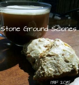 stone ground scones