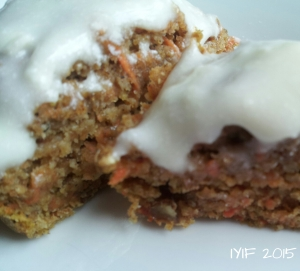 carrot cake muffins 1