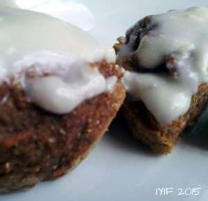 carrot cake muffins 2