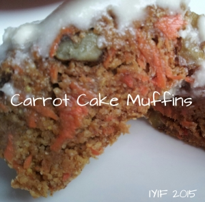 carrot cake muffins 3
