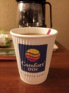 comfort inn coffee