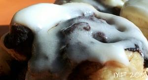 gooey fudge rolls