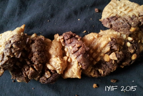 flourless chocolate peanut butter cookies5