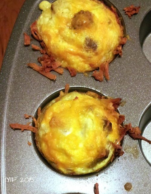 sausage and cheese egg nests6
