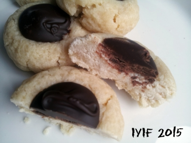shortbread with chocolate