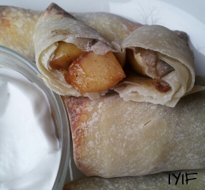 apple pie egg roll5