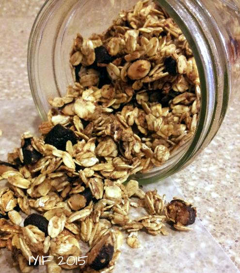 cocoa almond meusli