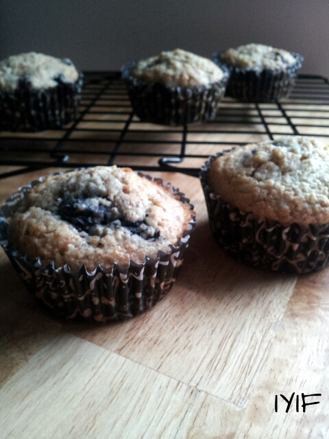 blueberry muffins 5