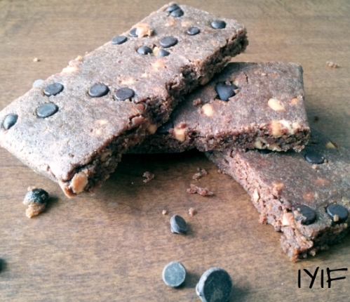 double chocolate protein bars