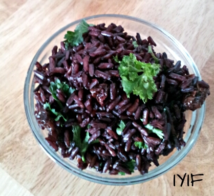 black rice and cherries3