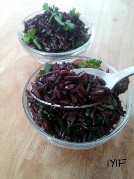black rice and cherries4
