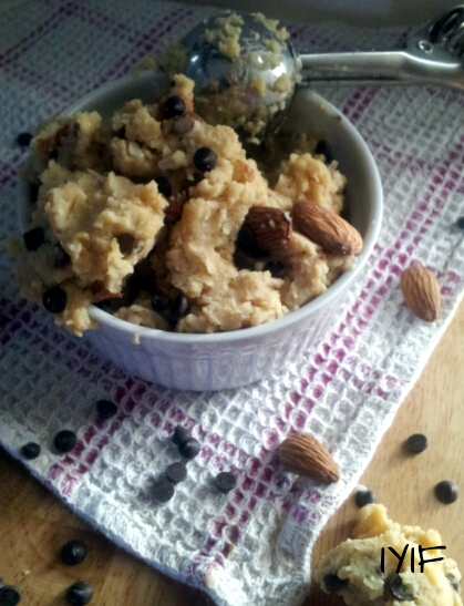 chickpea raw cookie dough
