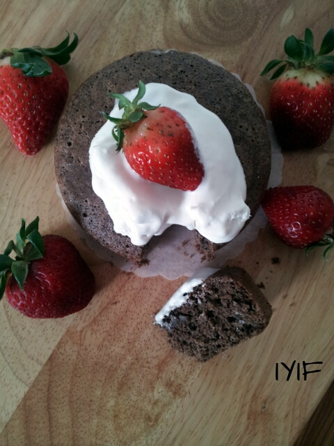 chocolate sponge cake3