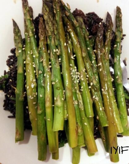 teriyaki asparagus