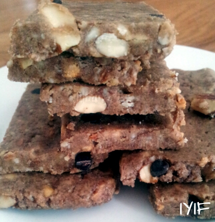 double almond protein bars3