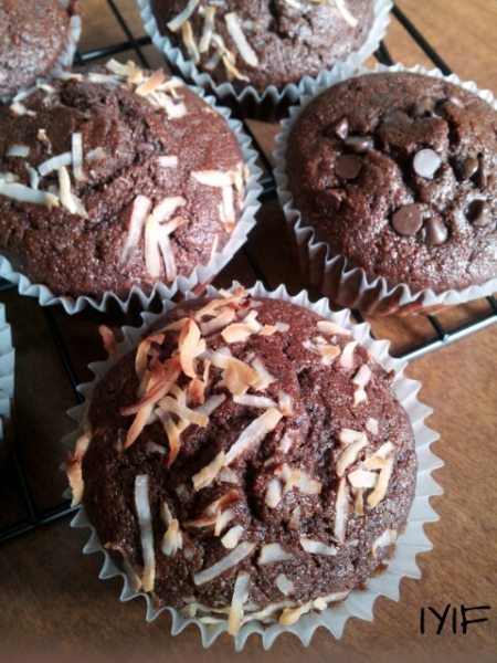 double chocolate muffins11
