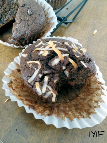double chocolate muffins7