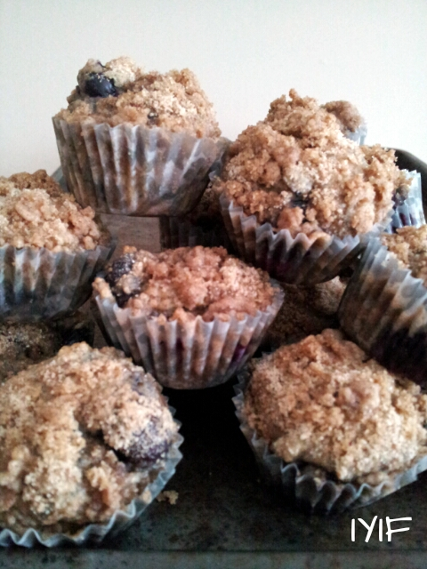 blueberry coffee cake mini muffins2