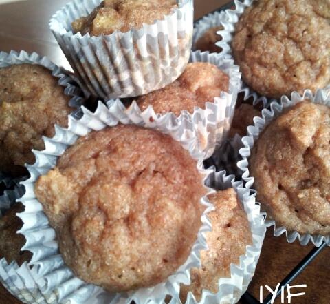 banana muffin minis