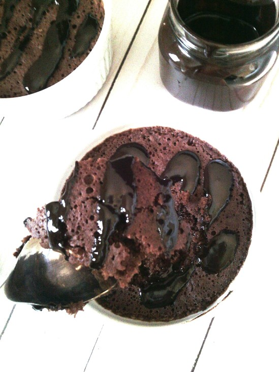 60 second chocolate cake13