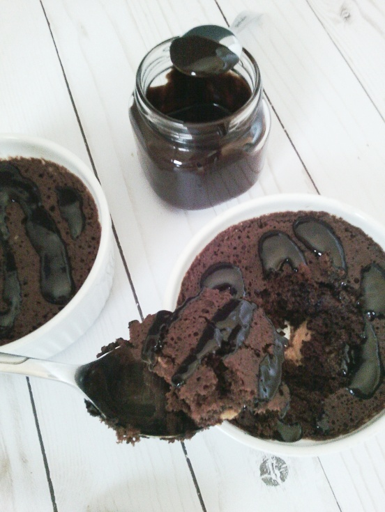 60 second chocolate cake9
