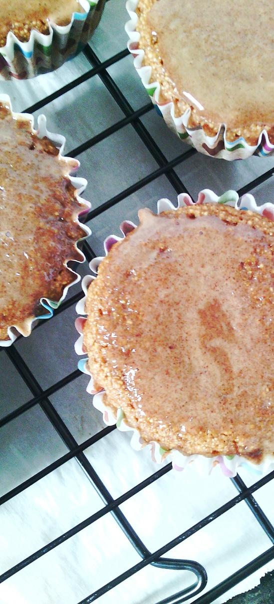 cinnamon spiced muffins