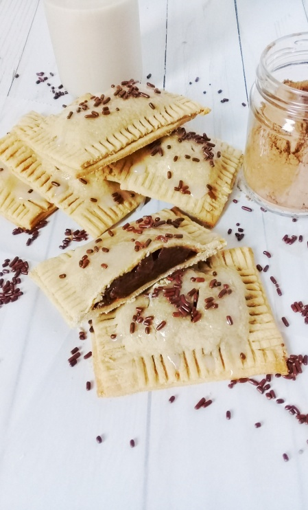 Chocolate hand pie pudding pockets using butter and sugar 2.0