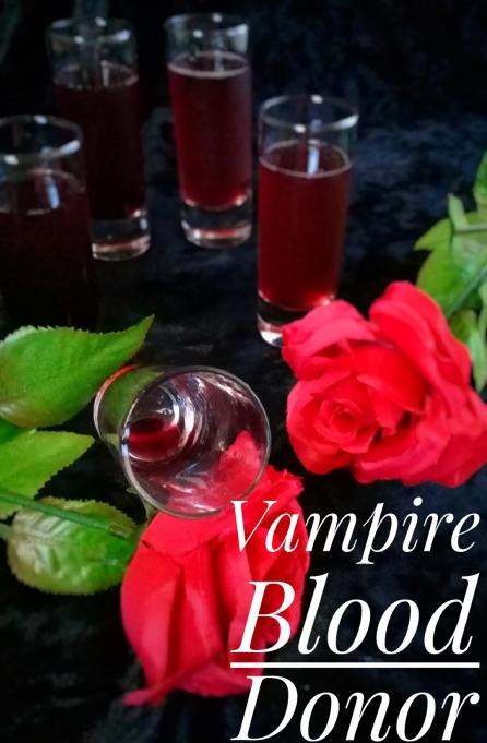 vampire blood donor cocktail made with Oregon Fruit Product cherries