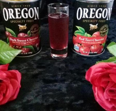 vampire blood donor cocktail made with oregon fruit products