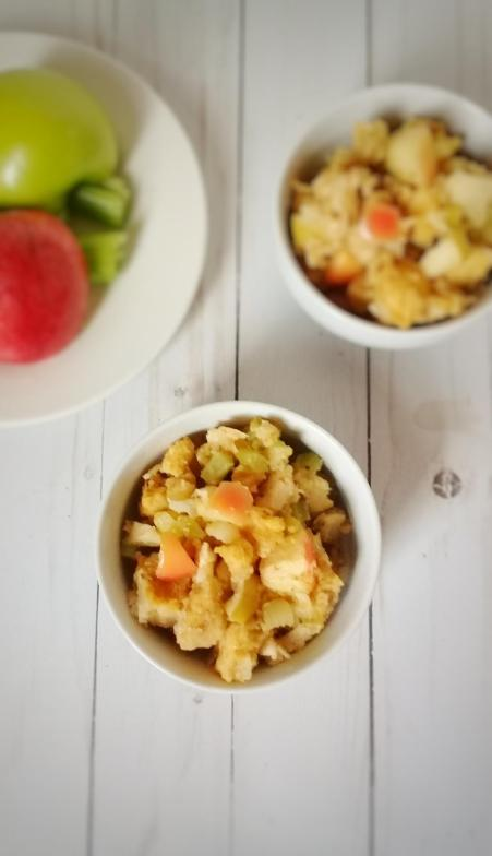cornbread stuffing double apple sweet2