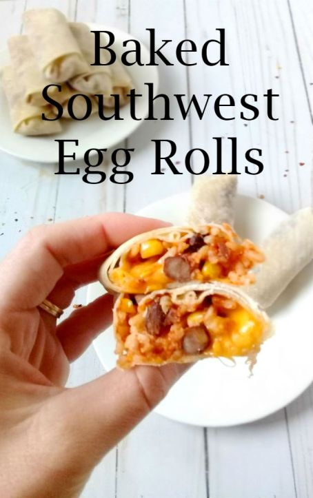 southwest+egg+rolls22